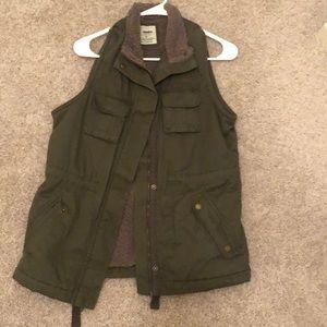 Jackets & Blazers - Army Green Utility Vest